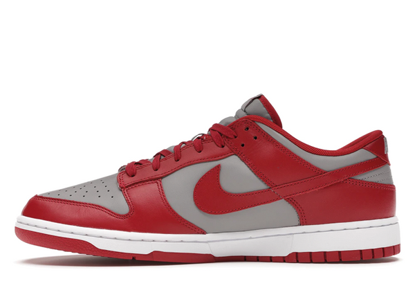 Nike Dunk Low Retro Medium Grey Varsity Red UNLV