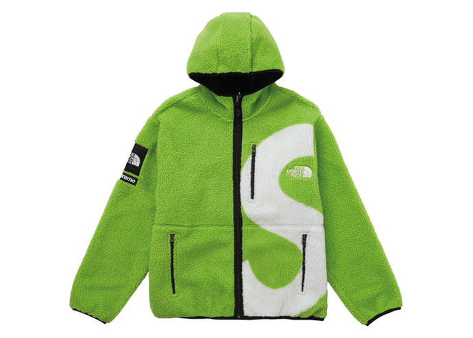 Supreme The North Face S Logo Fleece Jacket Lime - sneakergott.de