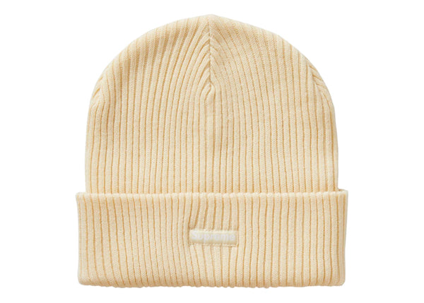 Supreme Wide Rib Beanie Natural - Sneakergott
