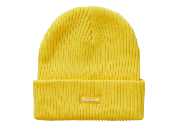Supreme Wide Rib Beanie Yellow - Sneakergott