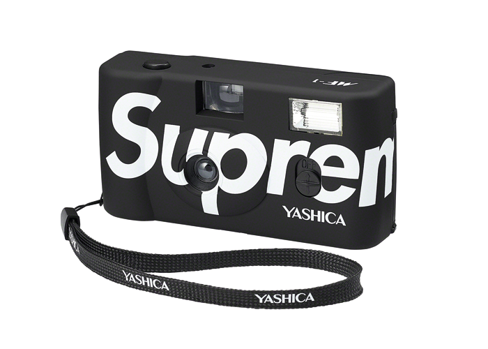Supreme x Yashica MF-1 Camera Black - Sneakergott