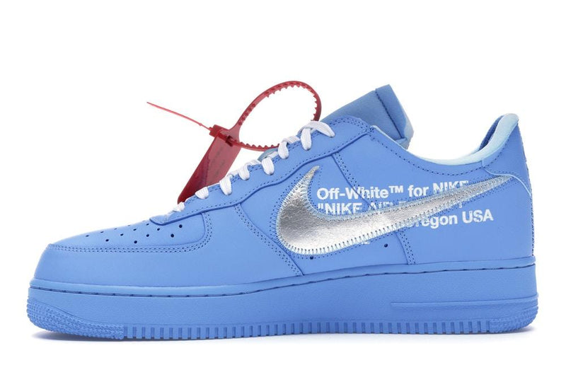 Nike Air Force 1 Low Off-White MCA University Blue - Sneakergott