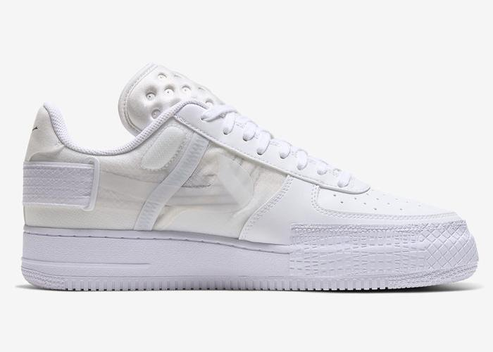Nike Air Force 1 Type Triple White - Sneakergott