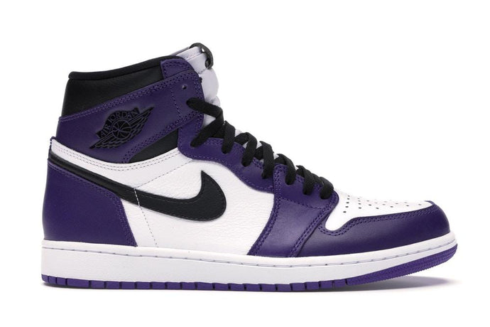 Jordan 1 Retro High Court Purple White - sneakergott.de
