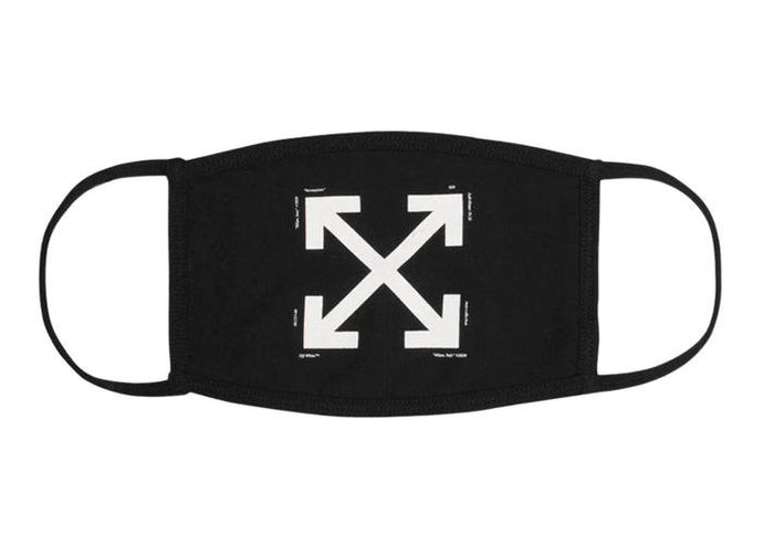 OFF-WHITE Arrows Face Mask Black/White - sneakergott.de