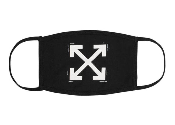 OFF-WHITE Arrows Face Mask Black/White - Sneakergott