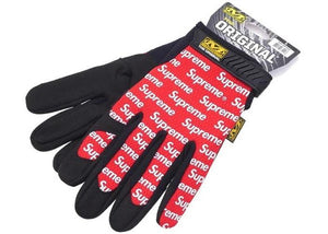 Supreme Mechanix Wear Gloves Red - sneakergott.de