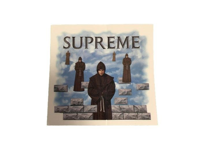 Supreme Monk Sticker - sneakergott.de