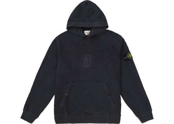 Supreme Stone Island Hooded Sweatshirt (SS19) Black - Sneakergott