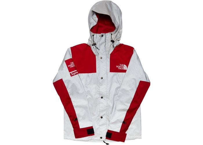 Supreme The North Face 3M Reflective Mountain Jacket Red USED Cond. 8/10 - Sneakergott