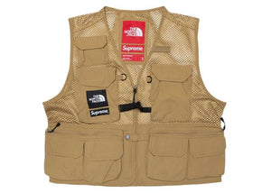 Supreme The North Face Cargo Vest Gold - sneakergott.de