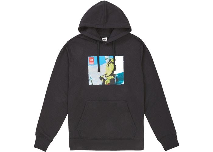 Supreme The North Face Photo Hooded Sweatshirt Black - Sneakergott