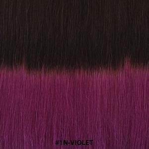 "20"" clip in hair extensions human hair - #T1N-VIOLET - Gadiva Hair Extensions - Blakk Hair Extensions"