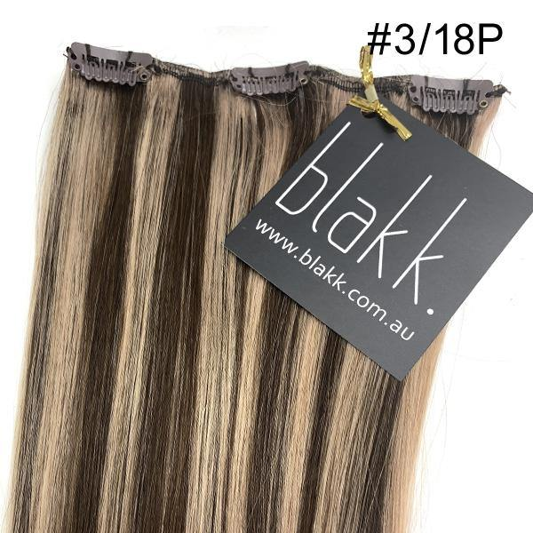 Hair Color #3/18P - clip in hair extensions Melbourne