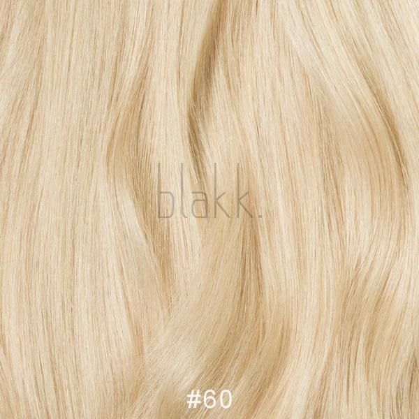 "18"" - #60 LIGHT BLONDE - TAPE HAIR EXTENSIONS - 100% HUMAN HAIR - Blakk Hair Extensions"
