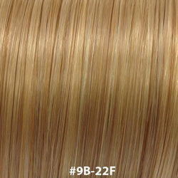 "20"" ULTRA TIP 10PCS #9B/22F - ultra tip (fan tip hair extensions) - Blakk Hair Extensions"