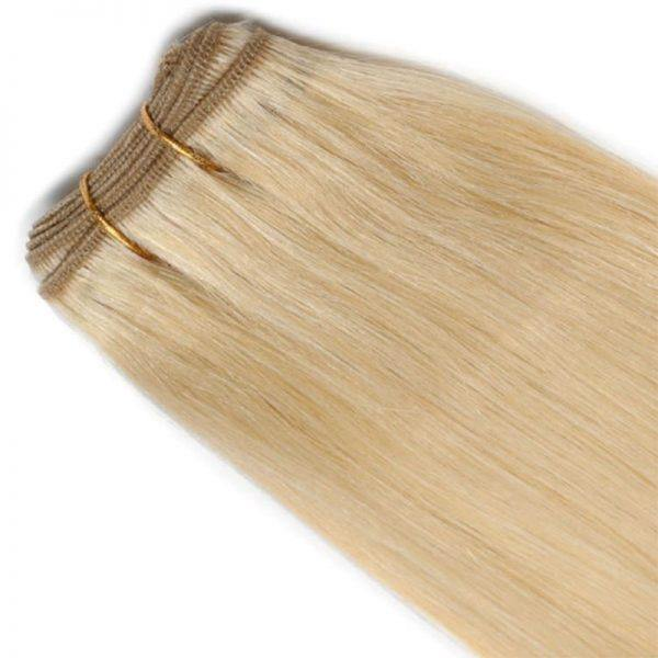 #4 BROWN Hair Extensions Weft - Blakk Hair Extensions