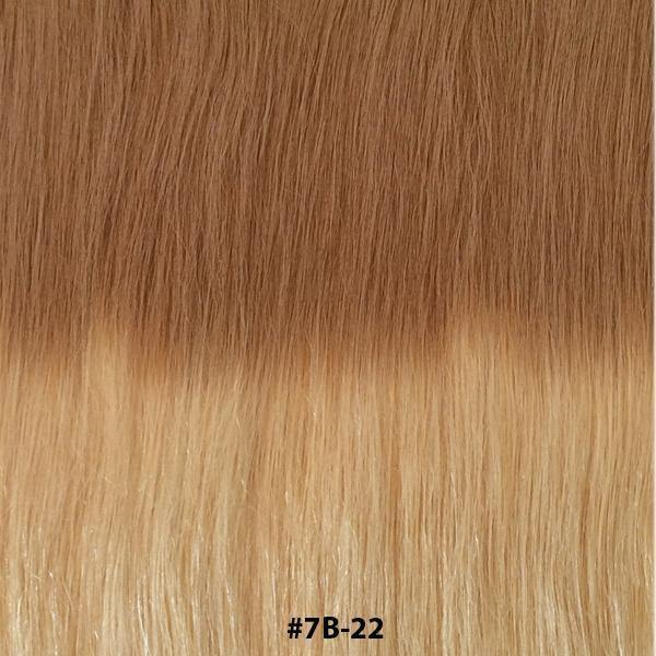"20"" Hair Extensions BALAYAGE- #T7B-22 - Gadiva Hair Extensions - Blakk Hair Extensions"