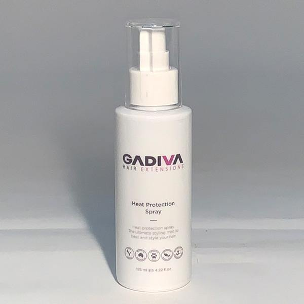 Gadiva Heat Protection Spray - 125ml - Blakk Hair Extensions