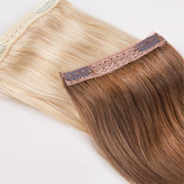 #18 DARK BLONDE Hair Extensions Weft - Blakk Hair Extensions