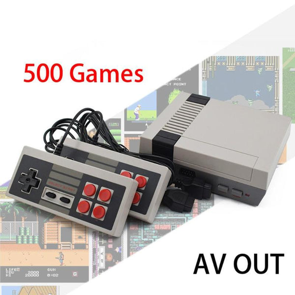 ALLOYSEED Retro Mini TV Game Console 8 Bit Handheld Game Player Kids Video Gaming Console Built-In 500/620 Classic Games Gifts
