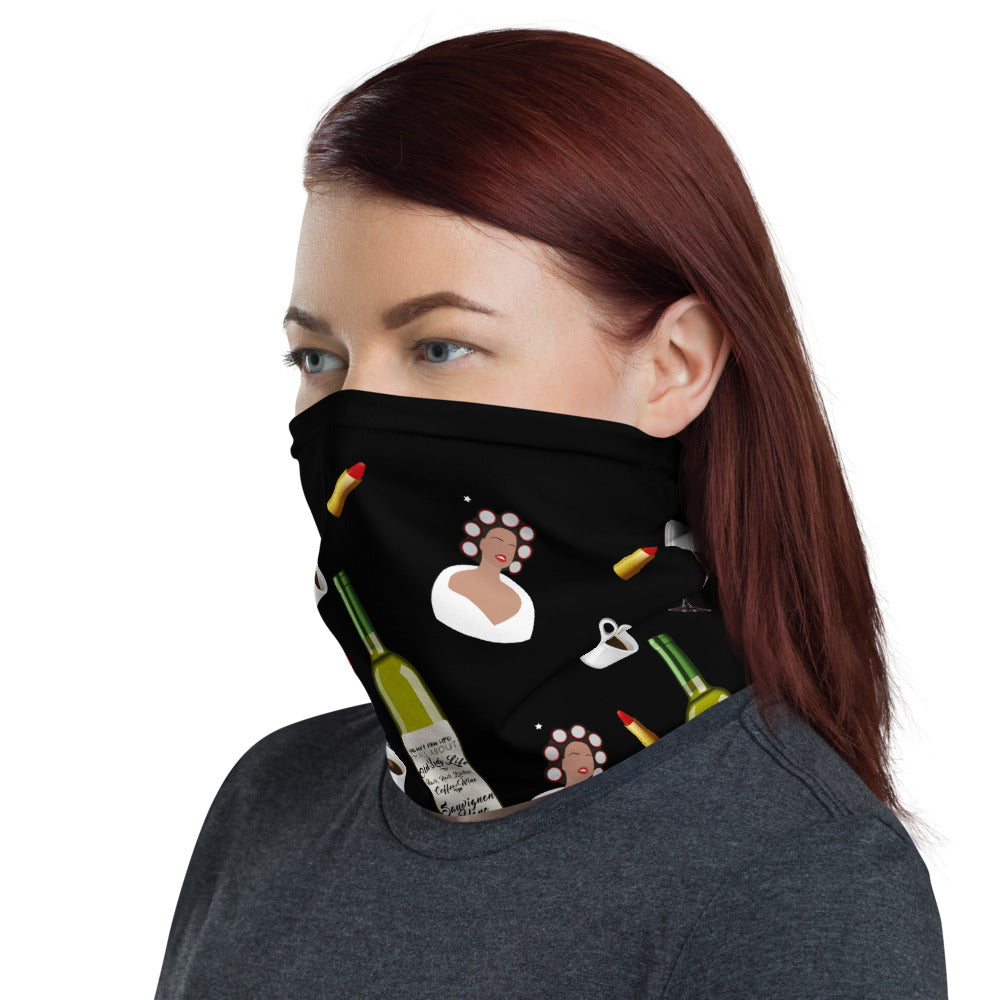 Old Lady Life Face Mask / Neck Gaiter