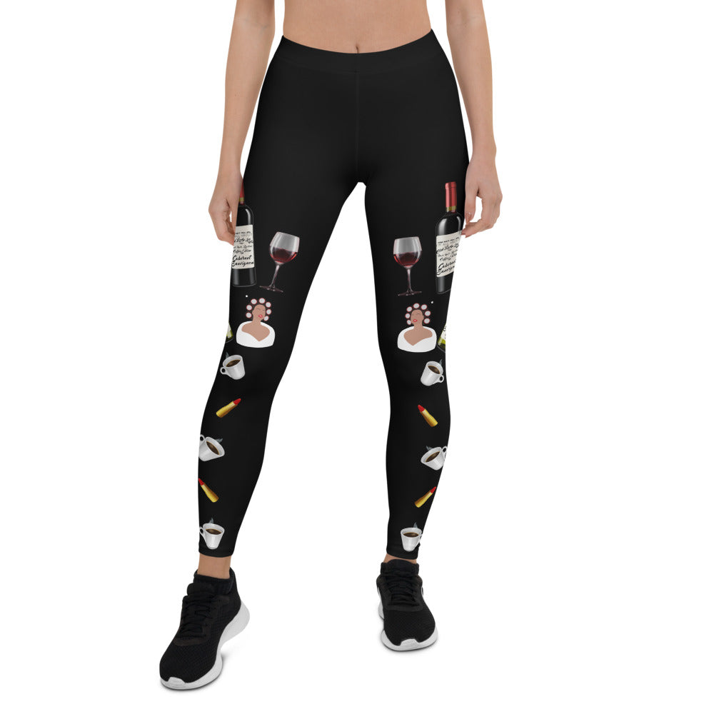 Old Lady Life Luxe Limited Edition Leggings