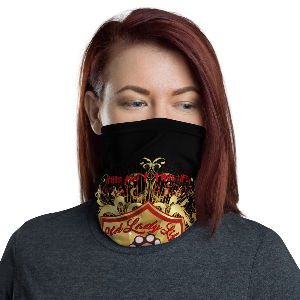 Old Lady Life Luxe Face Mask / Neck Gaiter