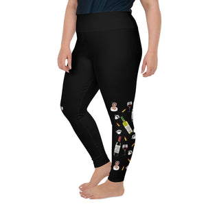 Old Lady Life Luxe Limited Edition Plus Size Leggings