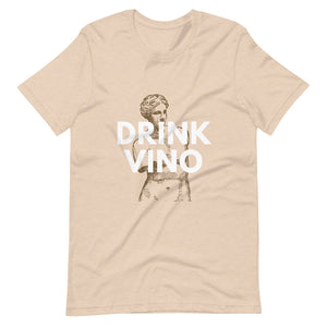 Drink Vino Short-Sleeve Unisex Drinking T-Shirt