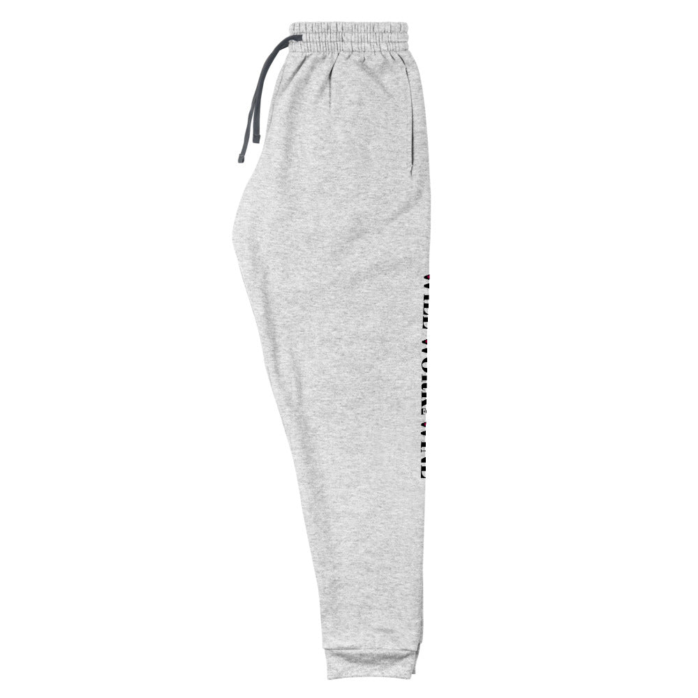 """Will Work For Wine"" Unisex Joggers"
