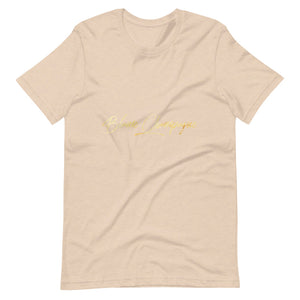 Blame Champagne Short-Sleeve Unisex Comfy T-Shirt