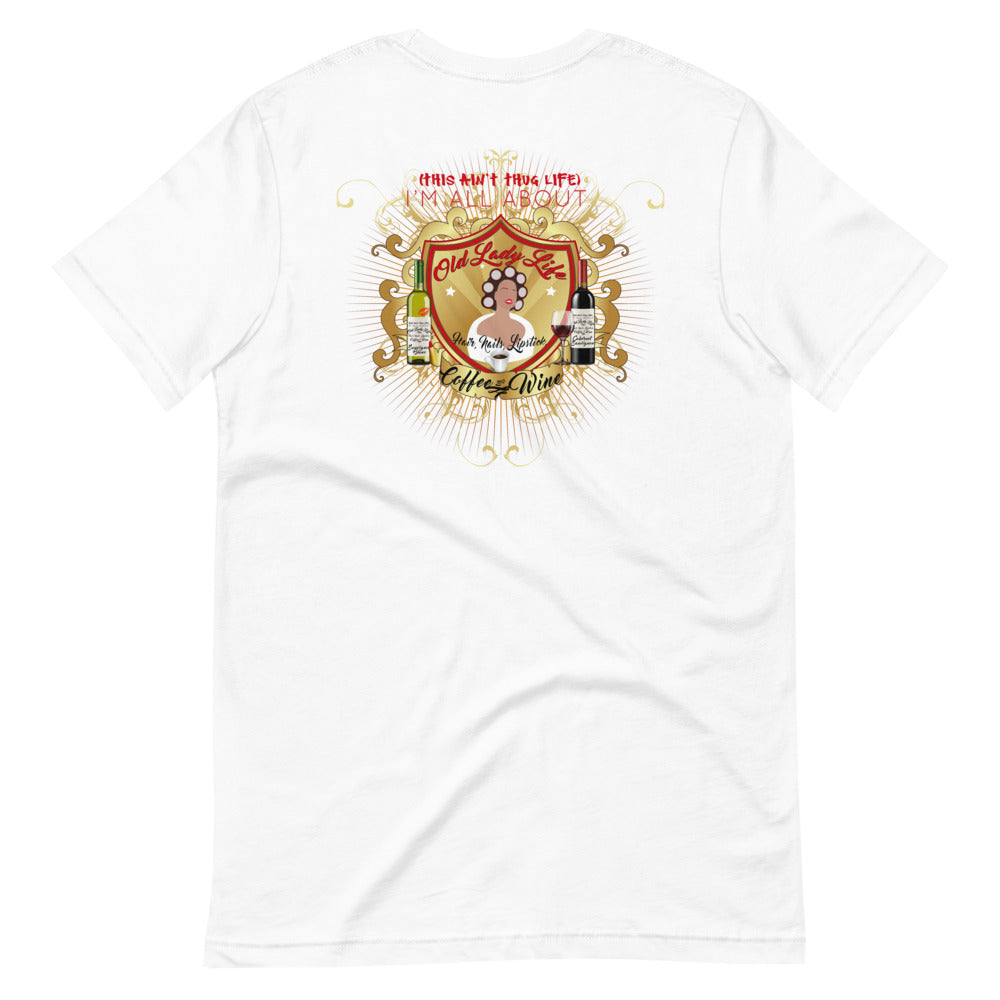 Old Lady Life - Luxe Limited Edition Short-Sleeve T-Shirt