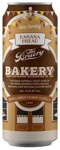Bruery - Bakery Banana Bread - Spiced Stout - 473ml