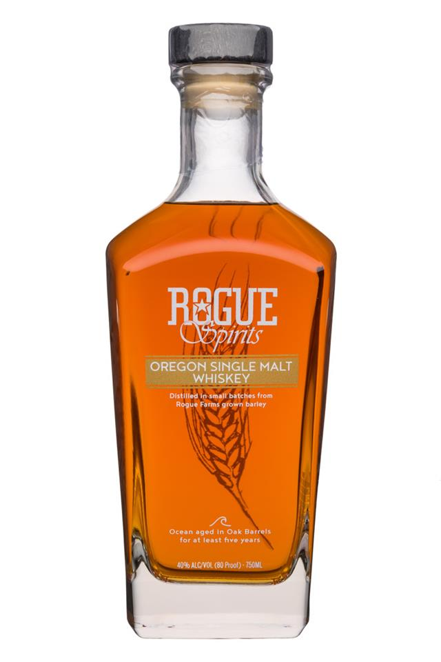 Whiskey -  Rogue Ales & Spirits - Oregon Single Malt - 700ml