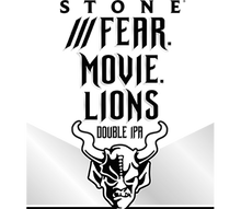 Load image into Gallery viewer, Stone - Fear Movie Lions - Hazy DIPA - 30ltr Keg