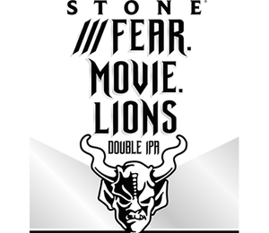 Stone - Fear Movie Lions - Hazy DIPA - 30ltr Keg