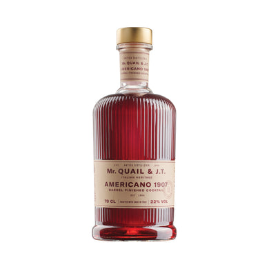 Mr Quail & Jerry Thomas - Americano 1907 - Pre Mixed Cocktail - 700mL