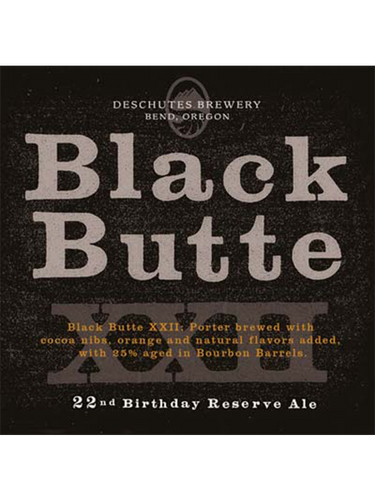 Deschutes - Black Butte 22nd Anniversary (2010) - Bourbon Barrel Aged Porter