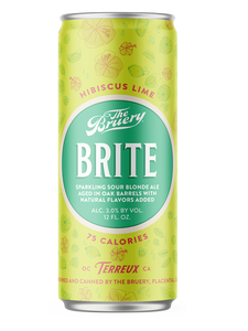 Bruery - Brite Hibiscus & Lime - Lifestyle Ale - 355ml.