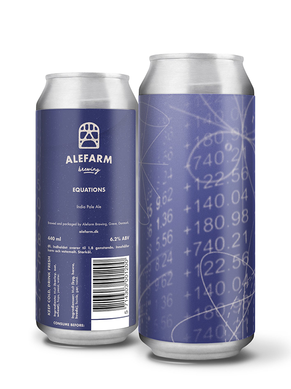 Alefarm - Equations - Hazy IPA - 440ml