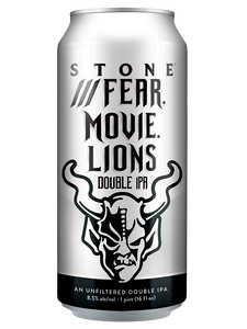 Stone - Fear Movie Lions - Unfiltered Hazy DIPA - 473ml - CASE