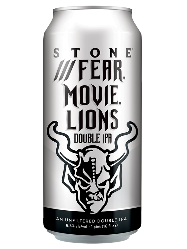 Stone - Fear Movie Lions - Unfiltered Hazy DIPA - 473ml