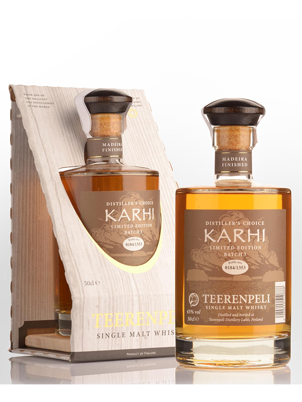 WHISKY - Teerenpeli -  KARHI 7 Year Old Single Malt - Finland - 500ltr