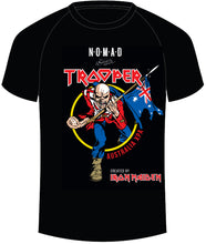 Load image into Gallery viewer, Nomad + Iron Maiden - Trooper - Official Australian T-Shirt
