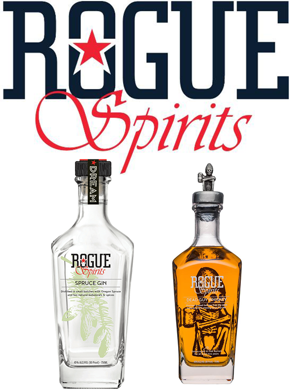 Rogue Ales & Spirits - Whisky + Gin Set x 700ml