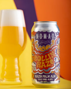 Nomad Rollin' Haze - Hazy Pale Ale  - 440ml Can - 4.6%