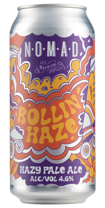 Nomad Rollin' Haze - Hazy Pale Ale  - 440ml Can - 4.6% - Bundle Can
