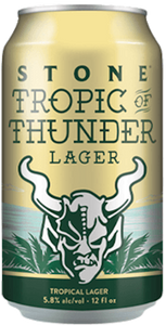 CLEARANCE - Stone Brewing -Tropic of Thunder American Lager - 355ml - Case