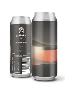 "Alefarm - The Storm is Over  - Scandi Pale ""STAFF PICK"" - 440ml"